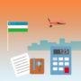 стоимость доставки в Узбекистан